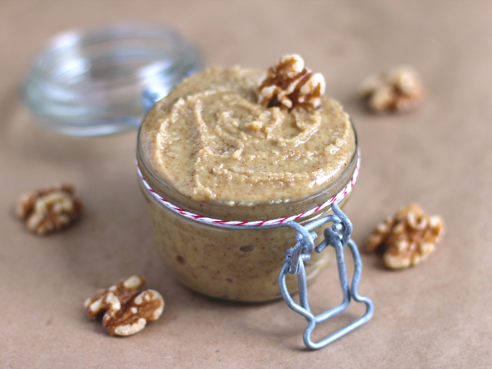 Healthy Homemade Raw Walnut Butter