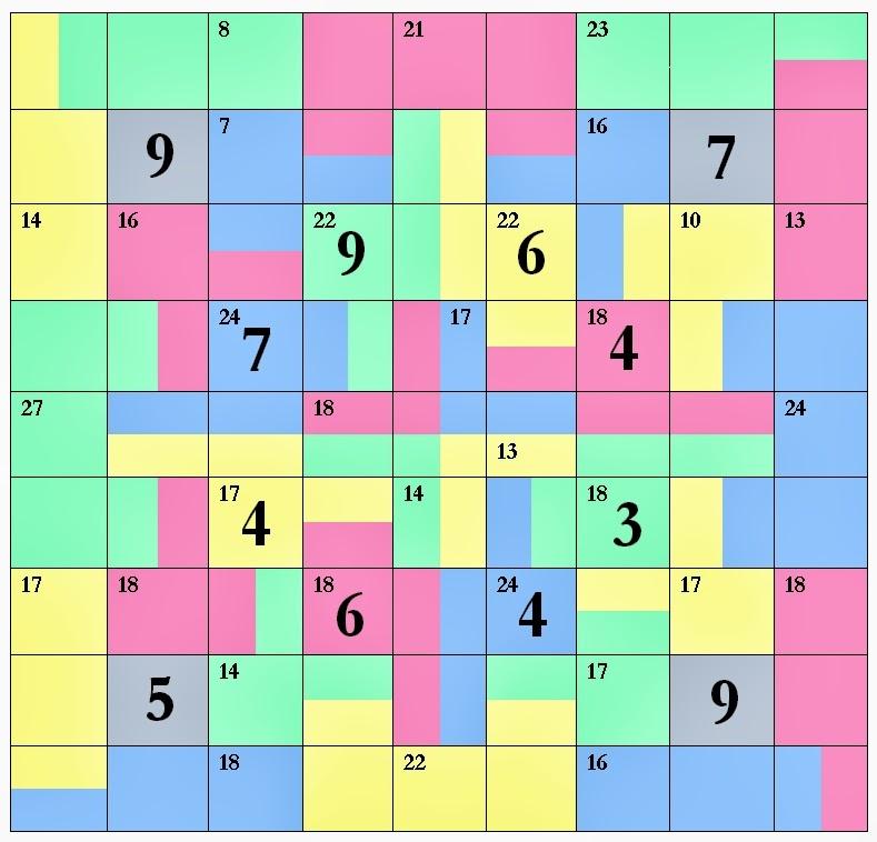 Sum Puzzle 2
