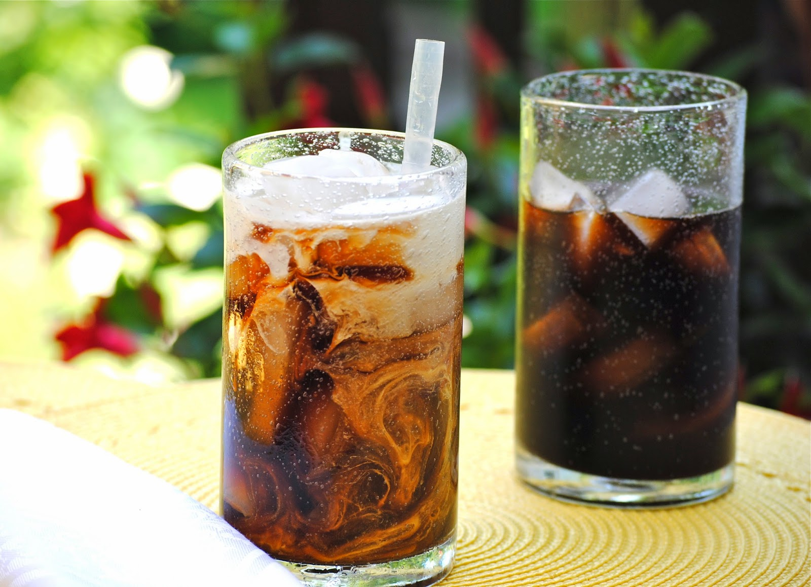 cold brewed iced coffee ~ best iced coffee ever!