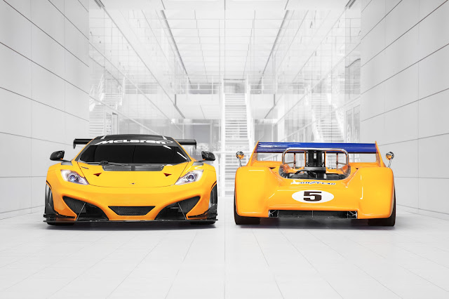 McLaren to Display 12C GT Can-Am Edition along Side Vintage Racers at Goodwood [Video]