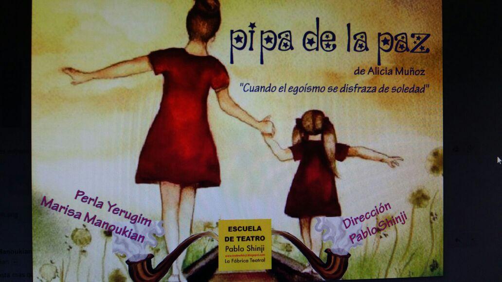 """Muestra 2016 """"Pipa de la paz"""" de Alicia Muñoz"""