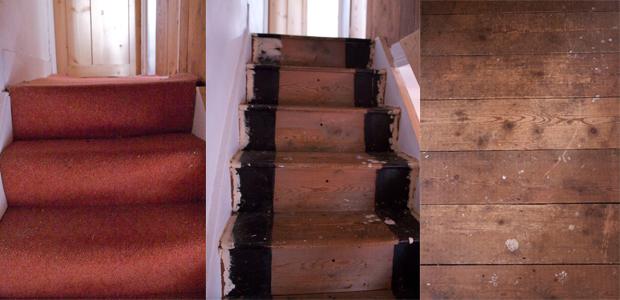 Laura Adkin Interiors Painted Stairs