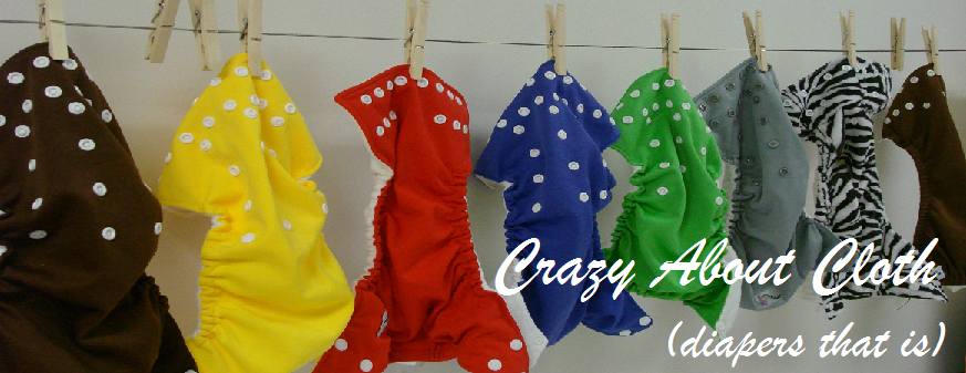 Crazy About Cloth (diapers that is)