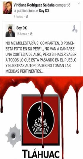 En Tláhuac ya no buscan quién se las hizo, sino quién se las pague