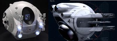 2001: A Space Odyssey pod - Oblivion Drone