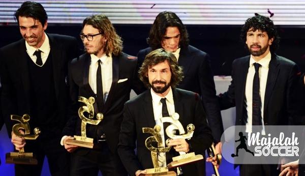 Juventus Dominasi Penghargaan Gran Gala del Calcio 2012