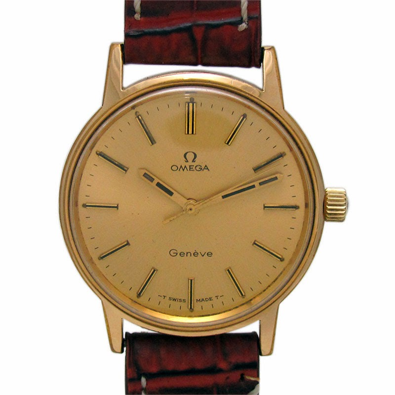 Antique watch and timepiece collection by wrist men watches omega geneve manual winidng watch for Watches geneva