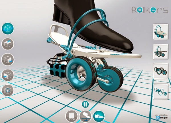 "Rollkers - The world's first Electronic ""UNDER SHOES"""