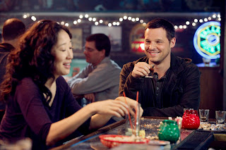Cristina Yang (Sandra Oh) and Alex Karev (Justin Chambers) in 7.21 I Will Survive