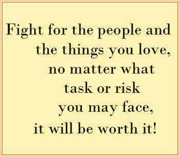 life inspiration quotes fight for what you love