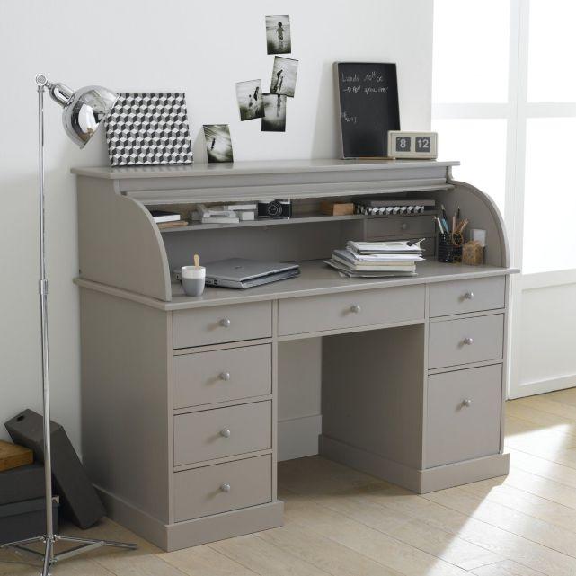 D coration par emilie b bien install pour travailler choisir le bureau et - Bureau en pin massif ...