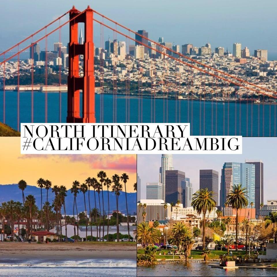 Itinerario viaggio california del nord