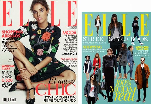Regalos revistas Noviembre 2014: Elle