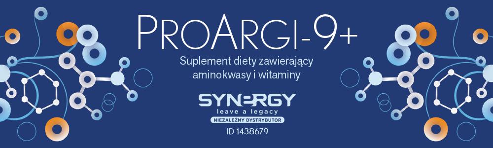 ProArgi-9+ - suplement diety z l-argininą od Synergy