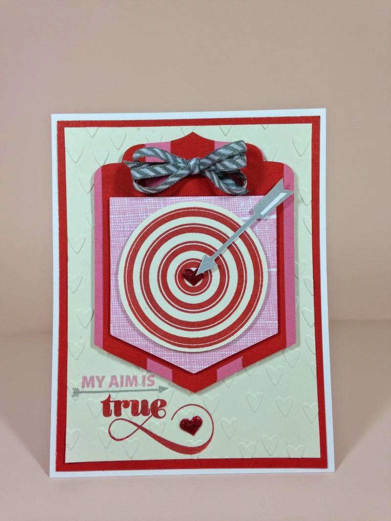 Cricut Bullseye card