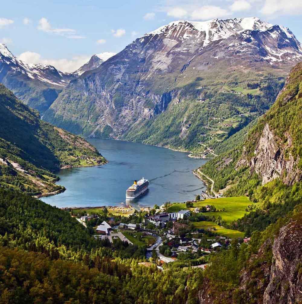 Geiranger Norway  city photo : domingo, 5 de janeiro de 2014