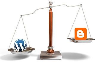 Blogger vs Wordpess - Mana yang terbaik