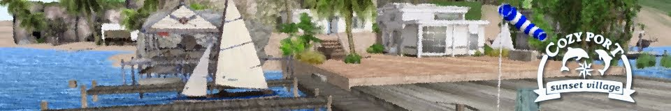 Cozy Port  - sunset village -