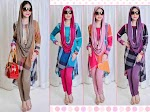 Blus Burberry + Legging + Pashmina SOLD OUT