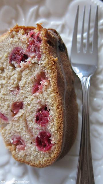 Spiced Cranberry Buttermilk Bundt Cake