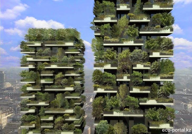 Il cielo su milano bosco verticale ecco com 39 e 39 in realta for Gli alberelli prezzi