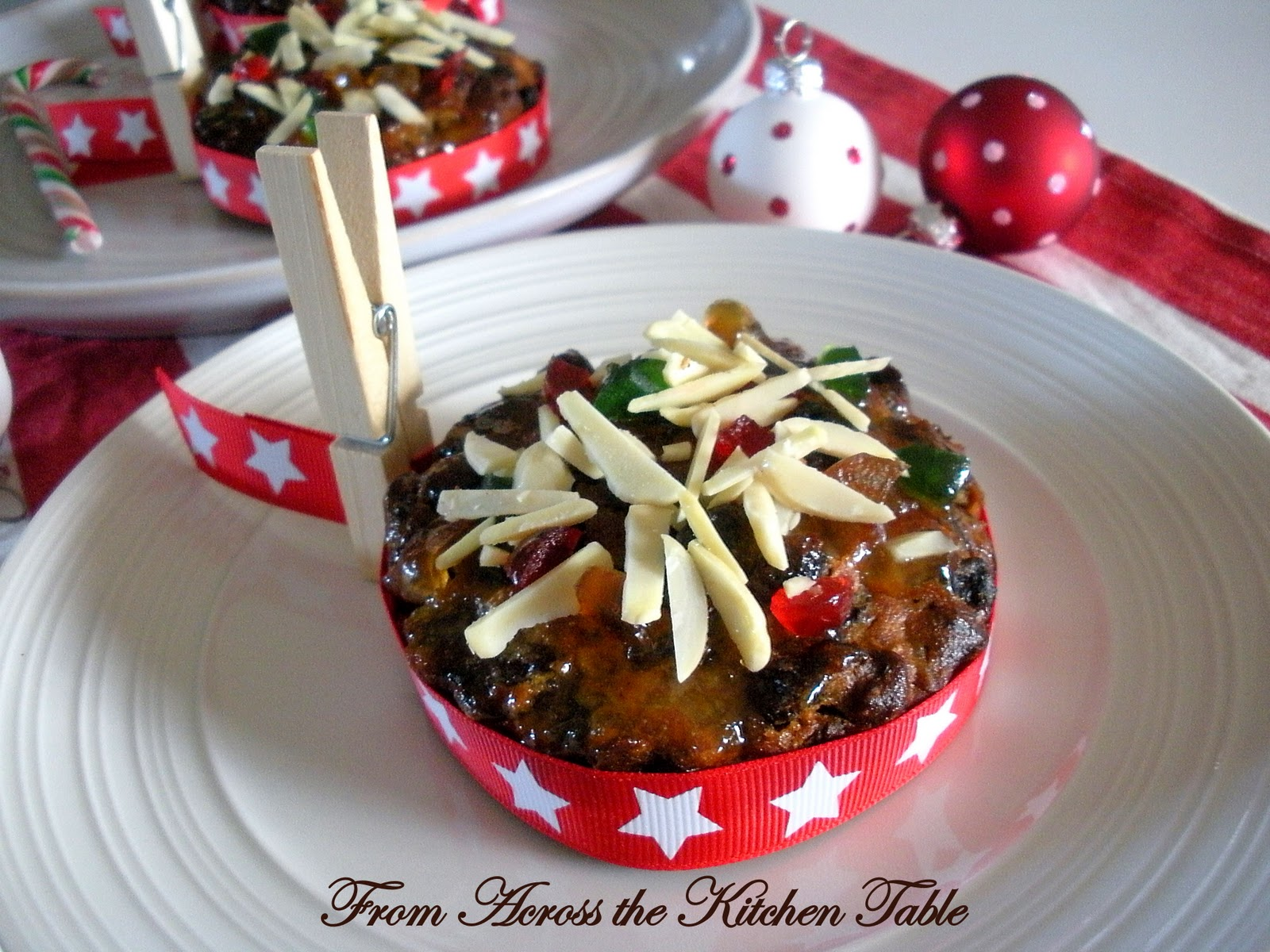 From Across the Kitchen Table: Mini Candied Fruit Cakes