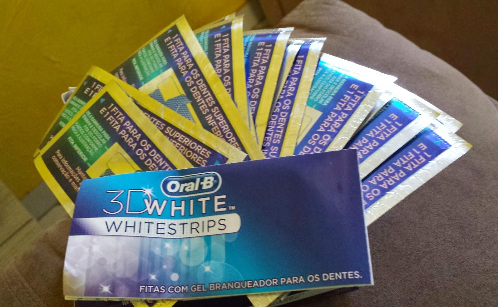 Rhayannyevely Testei E Aprovei 3d White Whitestrips Oral B