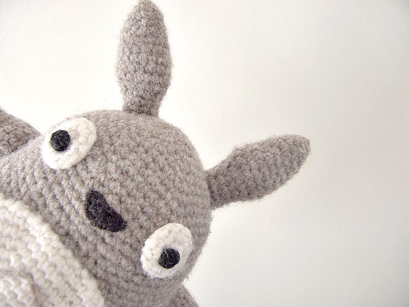 Tuto Amigurumi Totoro Francais : Latelier de Vekao: Amigurumi Totoro
