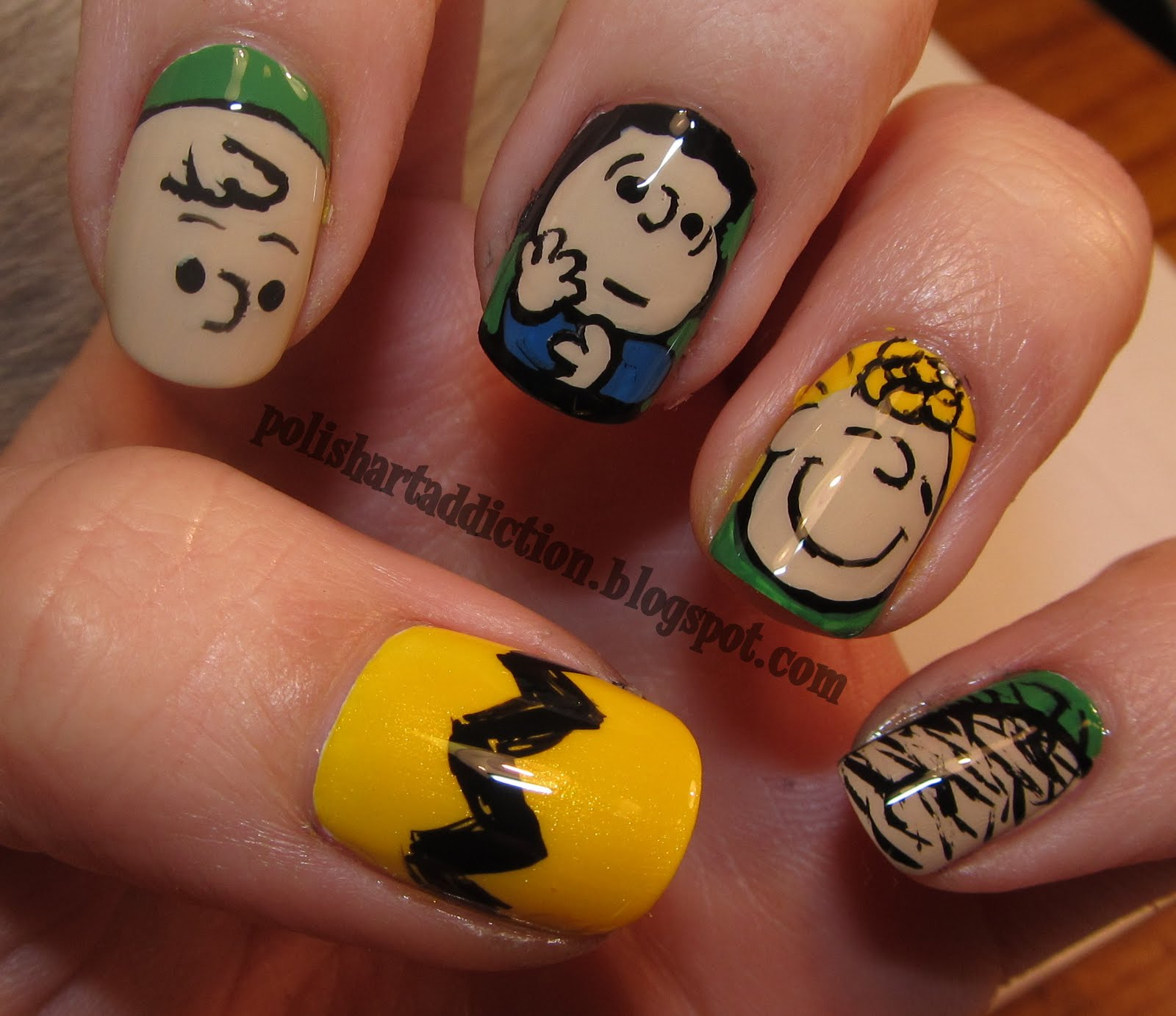 You're a Good Man-icure, Charlie Brown