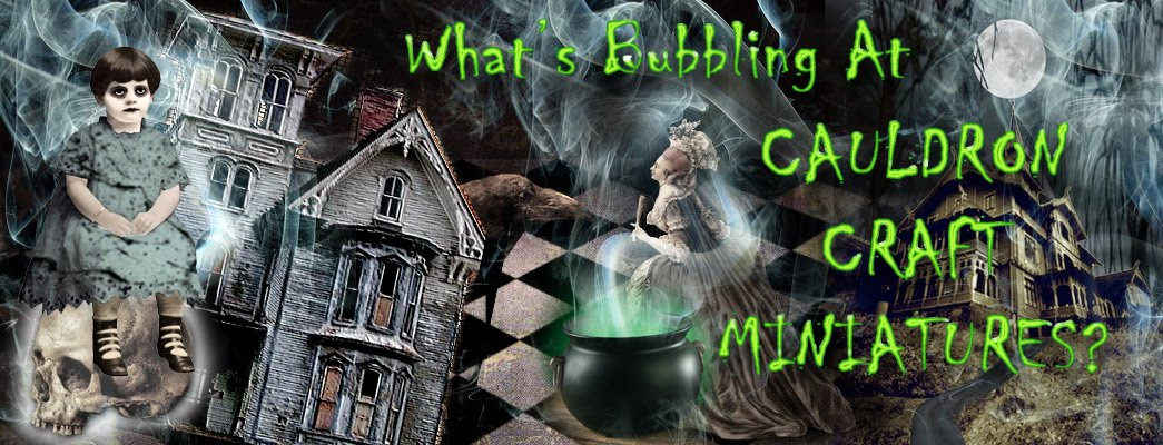 What's Bubbling At Cauldron Craft Miniatures?