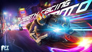غلاف لعبة Death Racing Moto