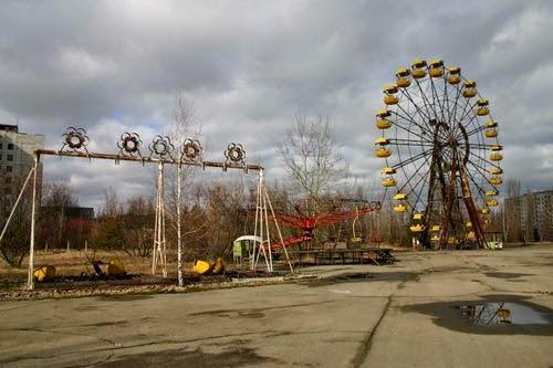 Sopa de ojos: La catástrofe de Chernobyl y supuestas apariciones