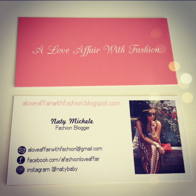 Anything fashion blogger business cards i have learned recently how important it is as a fashion blogger to have business cards especially if this is something that you take seriously colourmoves
