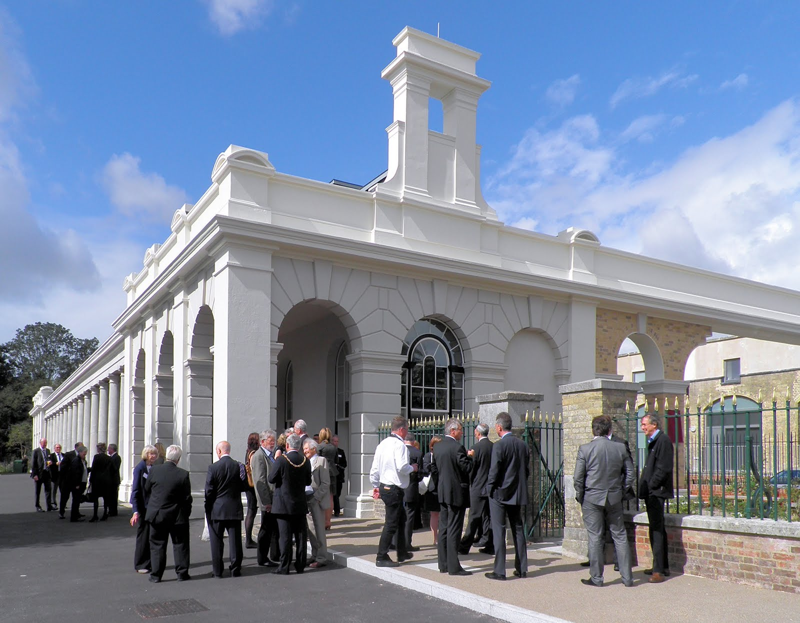 Opening Day of restored station