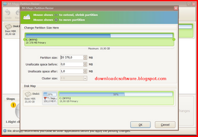 Download IM-Magic Partition Resizer 2.6.0 Unlimited