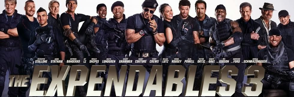 Poster wide Screener The Expendables 3