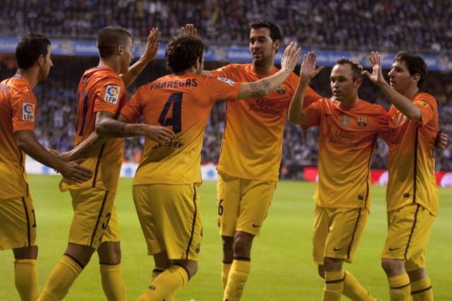Cuplikan Video Gol Highlights Deportivo La Coruna vs Barcelona 4-5