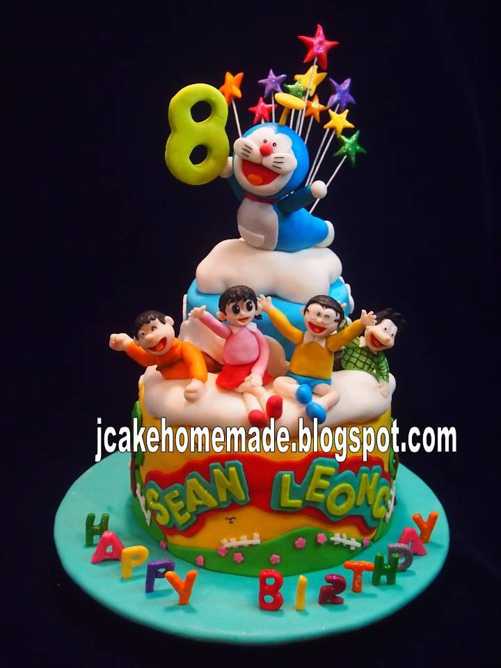 Doraemon Birthday Cake Images Download : Jcakehomemade: Doraemon birthday cake