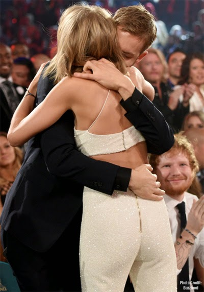 Taylor Swift and Calvin Harris PDA on Billboard Music Awards