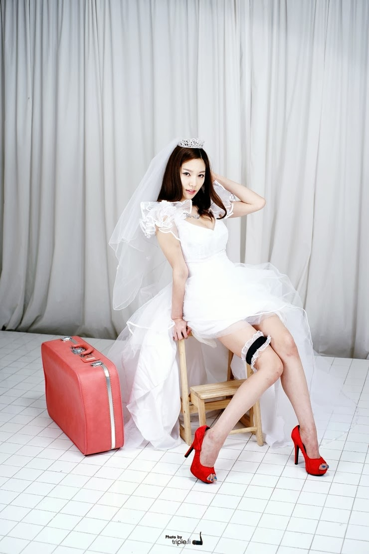 2 Han Ming Young - Weeding dress - very cute asian girl-girlcute4u.blogspot.com