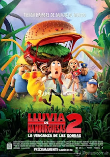 Lluvia de hamburguesas 2 – online 2013