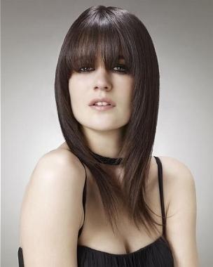 Hair editon cortes de pelo largo y glamour con flequillo 2012 - Definicion de glamour ...