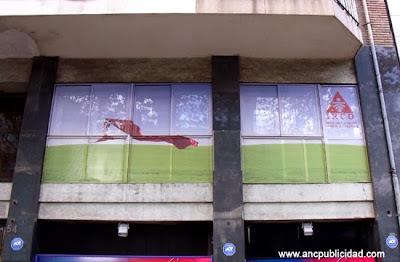 vinilo microperforado ventanas