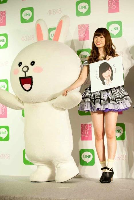 Las primeras 16 integrantes de la Elección Senbatsu de AKB48 tendrán sus stickers en LINE 03