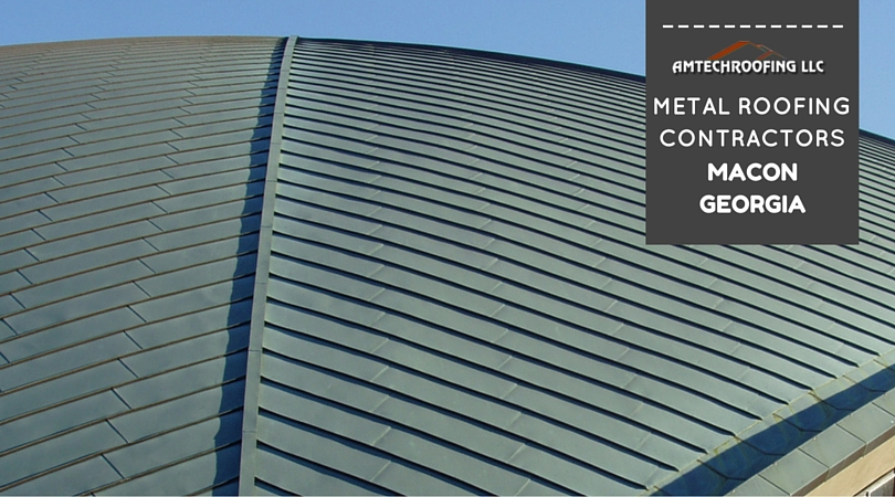 Need a Roof Check? Call AmTech. Metal Roofer in Macon, Georgia