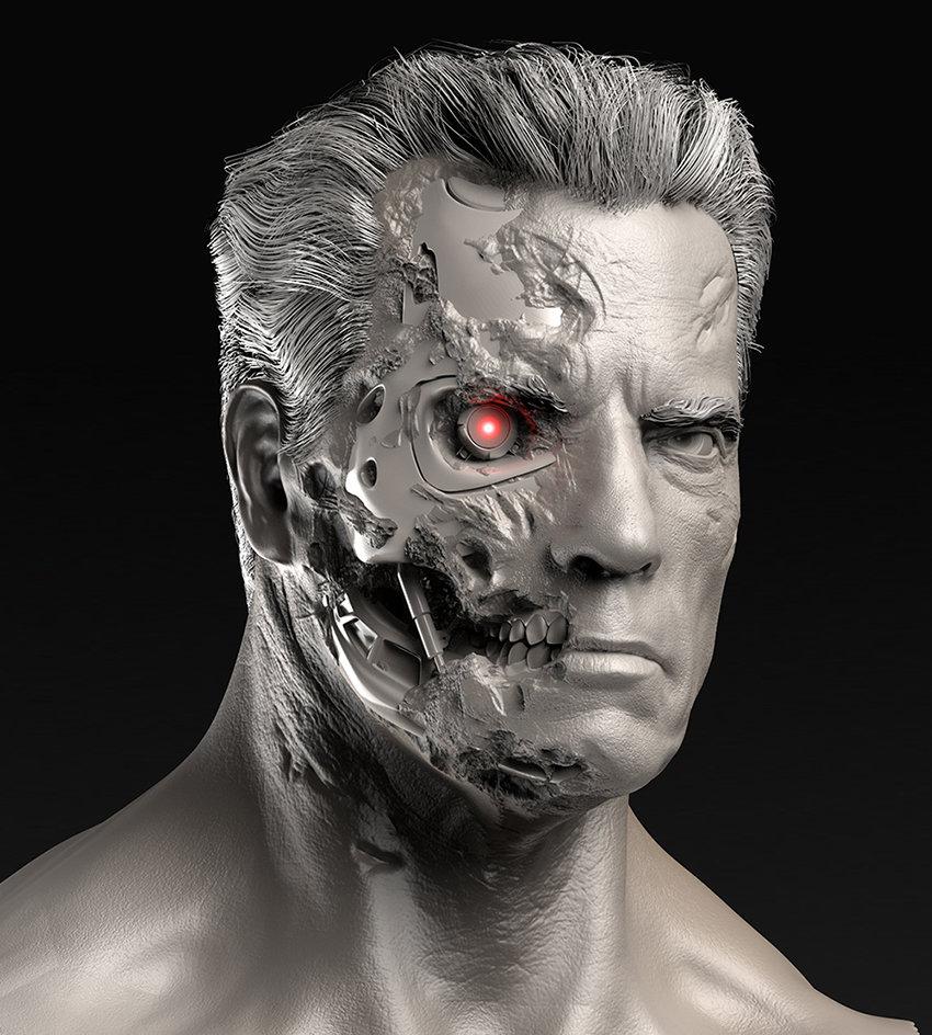 T800 Guardian - Terminator Genisys  CG Daily News