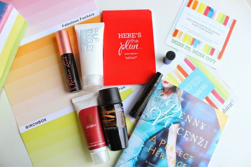 Birchbox Pick Your Benefit Sample Box (March 2015)