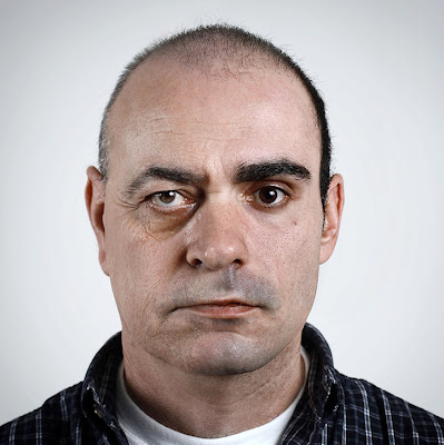 Freaky Split Family Faces Portraits by Ulric Collette Seen On www.coolpicturegallery.us