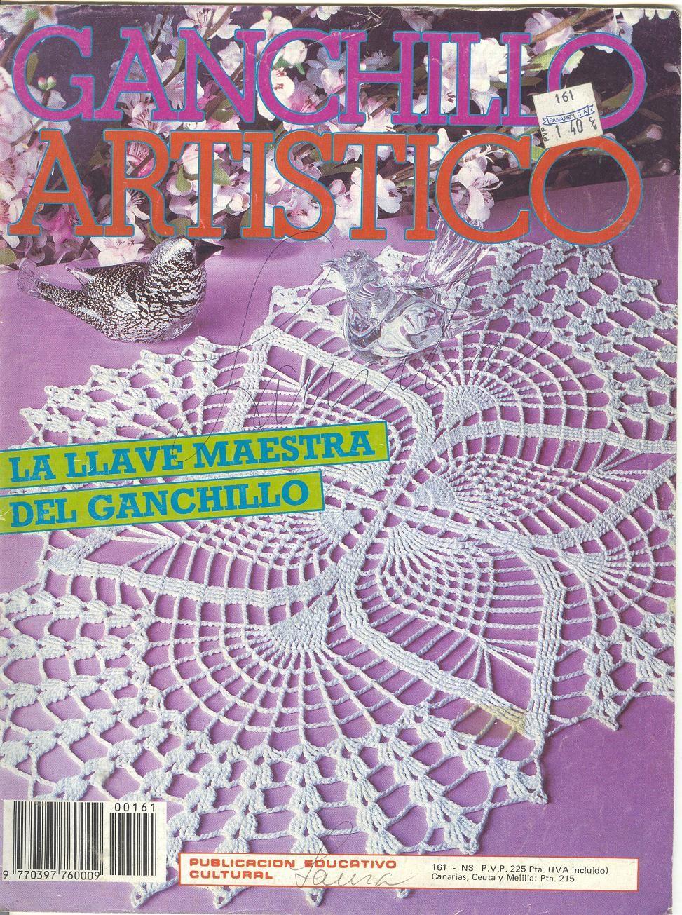 Revista: Ganchillo Artistico 161