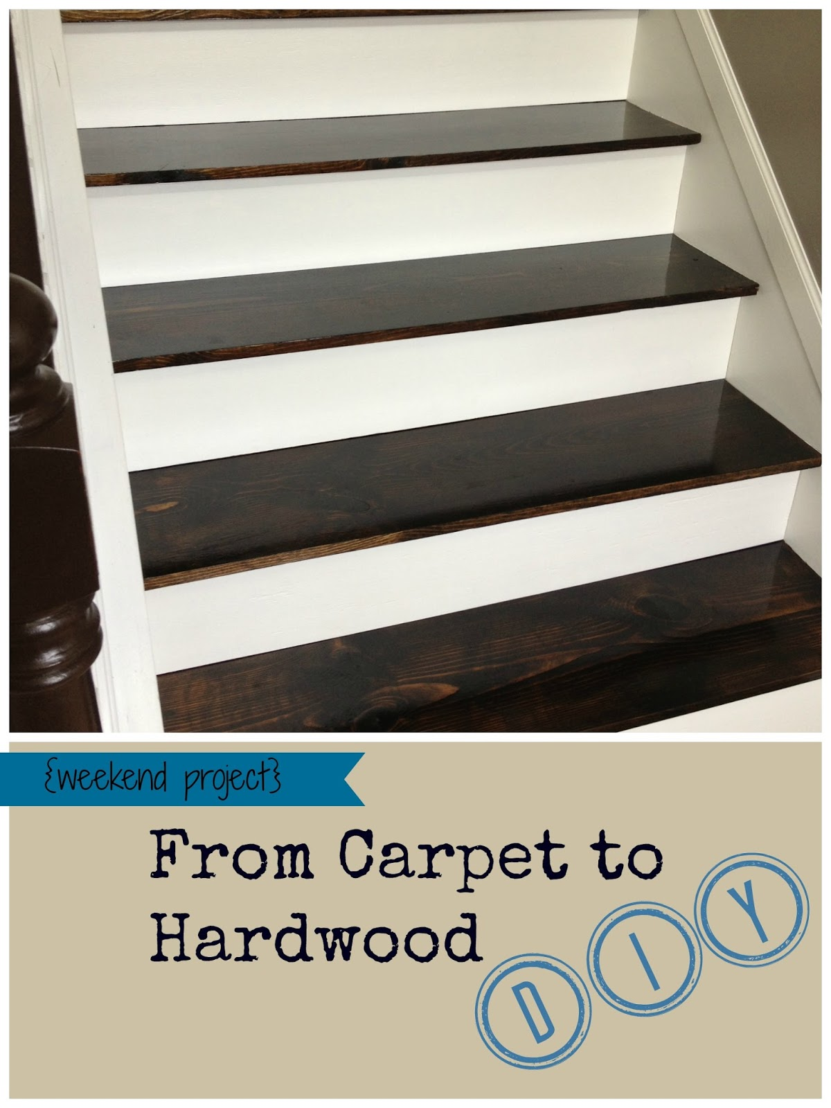From Carpet To Hardwood Stairs